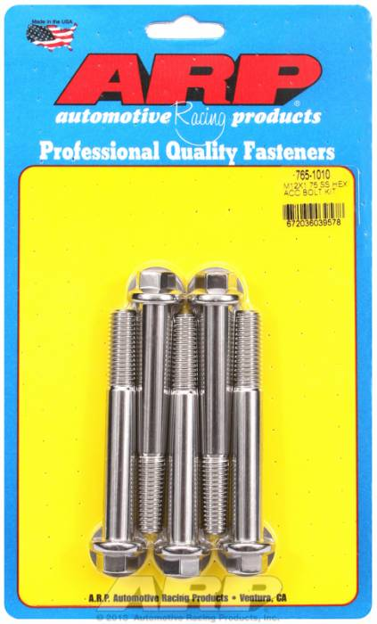 ARP - ARP7651010 - HEX SS BOLTS