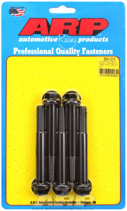 ARP - ARP6641010 - HEX BLK OXIDE BOLTS