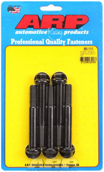 ARP - ARP6651010 - HEX BLK OXIDE BOLTS