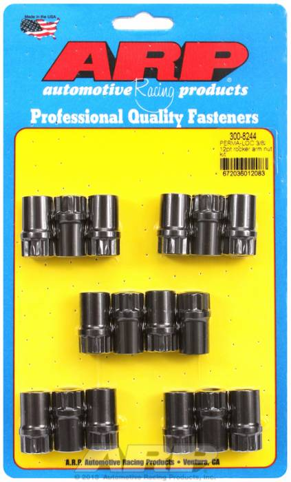 "ARP - ARP3008244 - ARP Poly-Lock Kit For Aluminum Rocker Arms And 3/8""-24 Threads, 1.200"" Long, .600"" Body Diameter, Pack Of 16"
