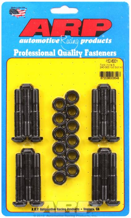 ARP - ARP1526001 -  ARP High Performance Rod Bolts- Ford Inline 6- 240-300- Complete Set