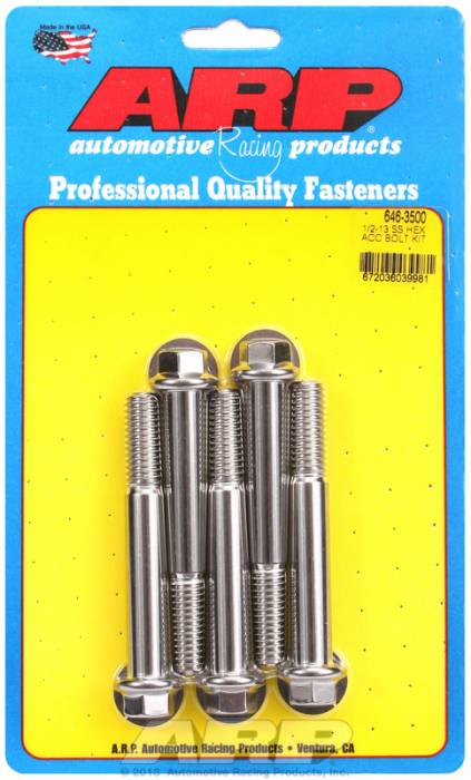 ARP - ARP6463500 - HEX SS BOLTS