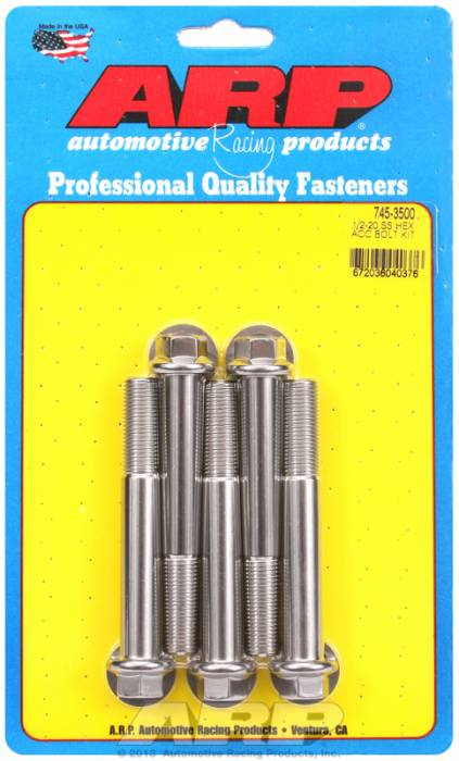 ARP - ARP7453500 - HEX SS BOLTS