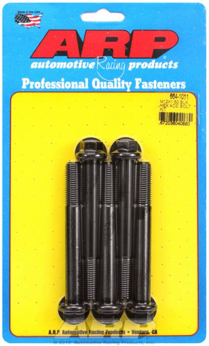 ARP - ARP6641011 - HEX BLK OXIDE BOLTS