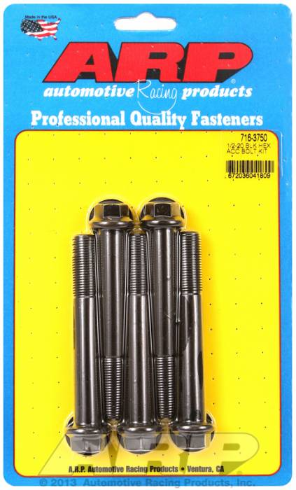 ARP - ARP7163750 - HEX BLK OXIDE BOLTS