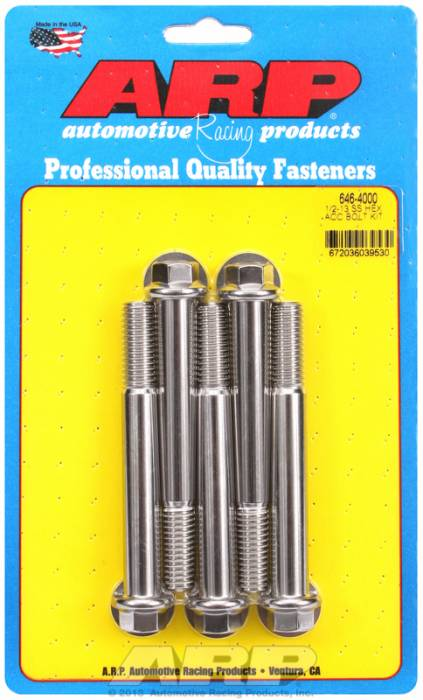 ARP - ARP6464000 - HEX SS BOLTS