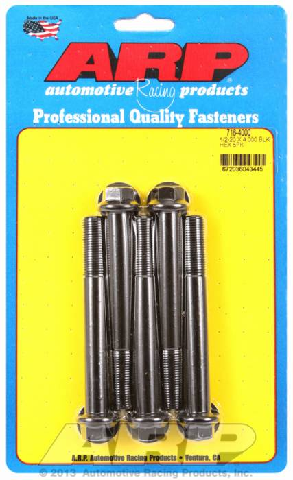 ARP - ARP7164000 - HEX BLK OXIDE BOLTS