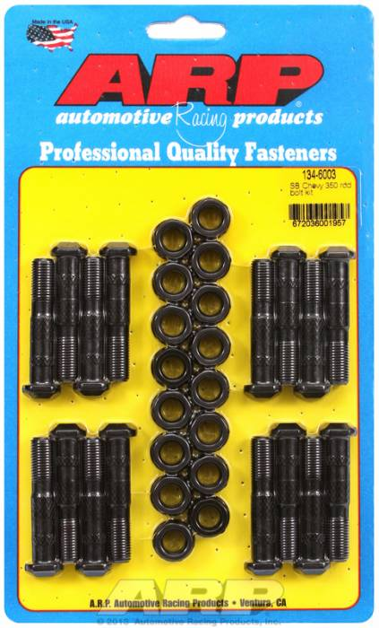 ARP - ARP1346003 - ARP-Rod Bolts-High Performance-Chevy 305-307-350 Large Journal- Complete Set