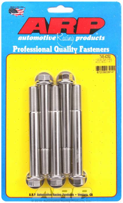 ARP - ARP7454250 - HEX SS BOLTS