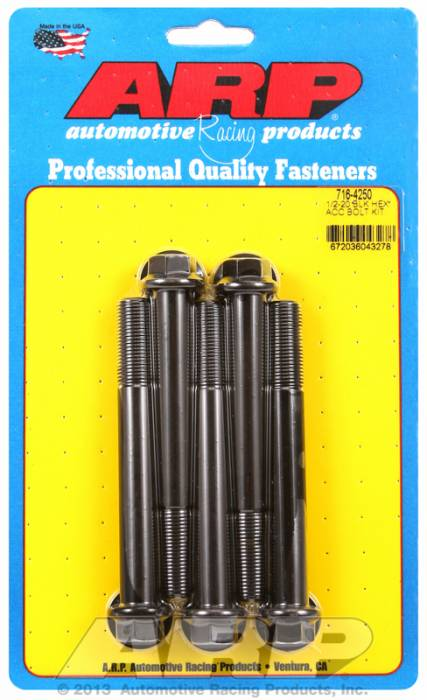 ARP - ARP7164250 - HEX BLK OXIDE BOLTS