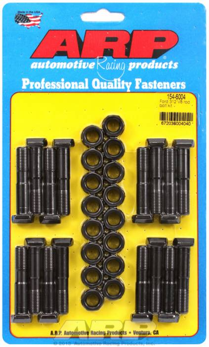 "ARP - ARP1546004 -  ARP High Performance Rod Bolts- Ford 239,256,272,292 ""Y"" Block Also 312 (Marked Ecz)- Complete Set"