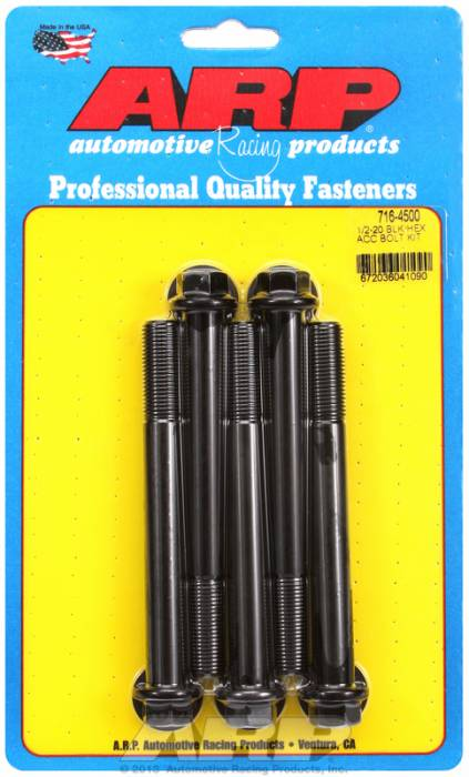 ARP - ARP7164500 - HEX BLK OXIDE BOLTS