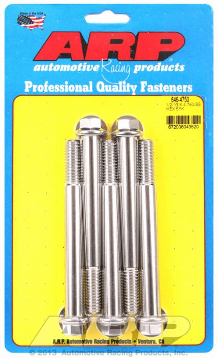 ARP - ARP6464750 - HEX SS BOLTS