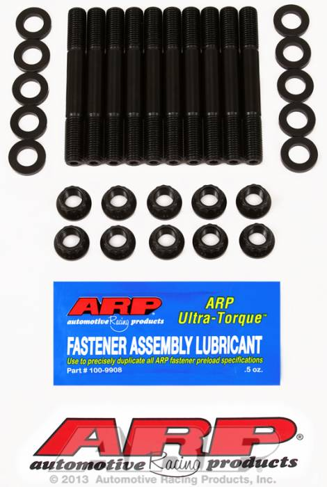 ARP - ARP2185401 - ARP Main Cap Stud Kit-Mazda- Miata 1.6L,1.8L- 12 Point Nuts
