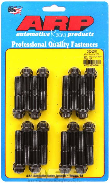 ARP - ARP2006001 - ARP High Performance Rod Bolts- Ford 427 Lemans- Complete Set