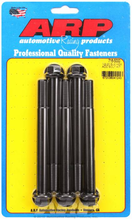 ARP - ARP7165000 - HEX BLK OXIDE BOLTS
