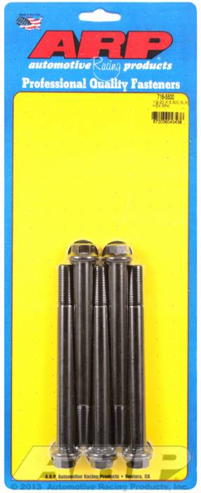 ARP - ARP7165500 - HEX BLK OXIDE BOLTS