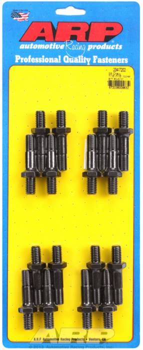"ARP - ARP2347202 - ARP Rocker Arm Studs - Pro Series - SBC & Pontiac V8, 7/16"" top and bottom"