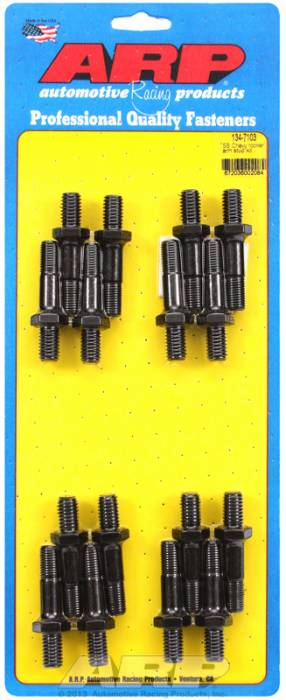 "ARP - ARP1347103 - ARP Rocker Arm Stud Kit- Small Block Chevy With 7/16"" Screw In Studs- Set Of 16"