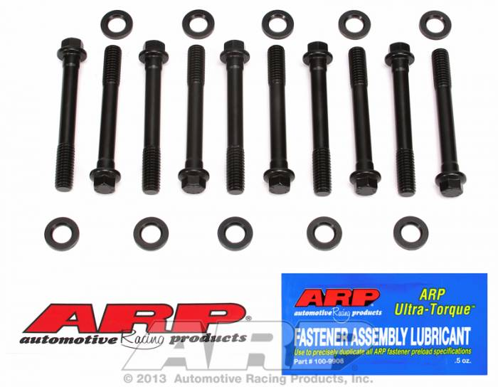 ARP - ARP1345001 - ARP Main Cap Bolt Kit- High Performance Series- Chevy Small Block Large Journal, 2 Bolt Main