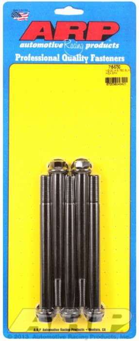 ARP - ARP7165750 - HEX BLK OXIDE BOLTS