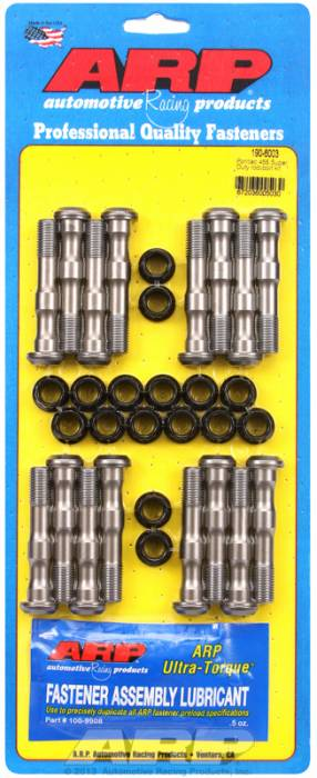 "ARP - ARP1906003 - ARP High Performance Rod Bolts- Pontiac 455 (Super Duty Engine) (7/16"") -Complete Set"