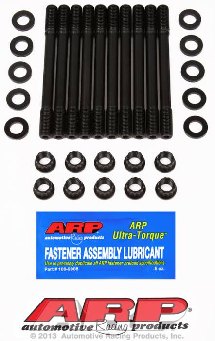 ARP - ARP2024702 - Rp Head Stud Kit- Nissan -Ca18De, Ca8Det- 12 Point Nuts- Undercut Studs
