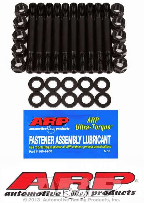 ARP - ARP1345402 - ARP Main Cap Stud Kit- Chevy Small Block - Small Journal, W/O Windage Tray, 2 Bolt Main