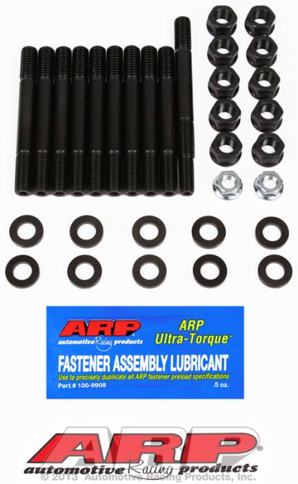 ARP - ARP1545407 -ARP Main Cap Stud Kit- Ford 302-With Dual Or Rear Sump Oil Pan- 2 Bolt