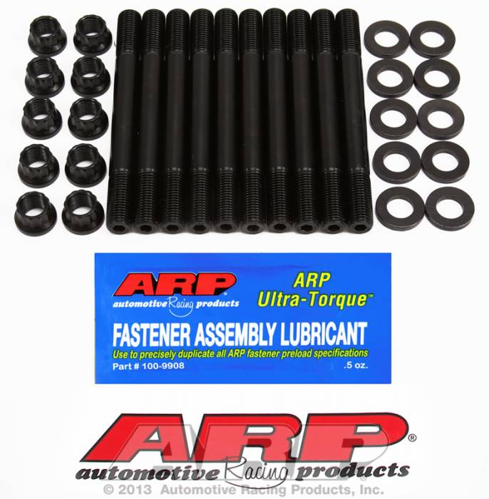 ARP - ARP2074203 -  ARP Head Stud Kit- Mitsubishi - 2.0L 4Cyl, 16Valve, 12mm, 4G63 -1994 To Present- 12 Point Nuts
