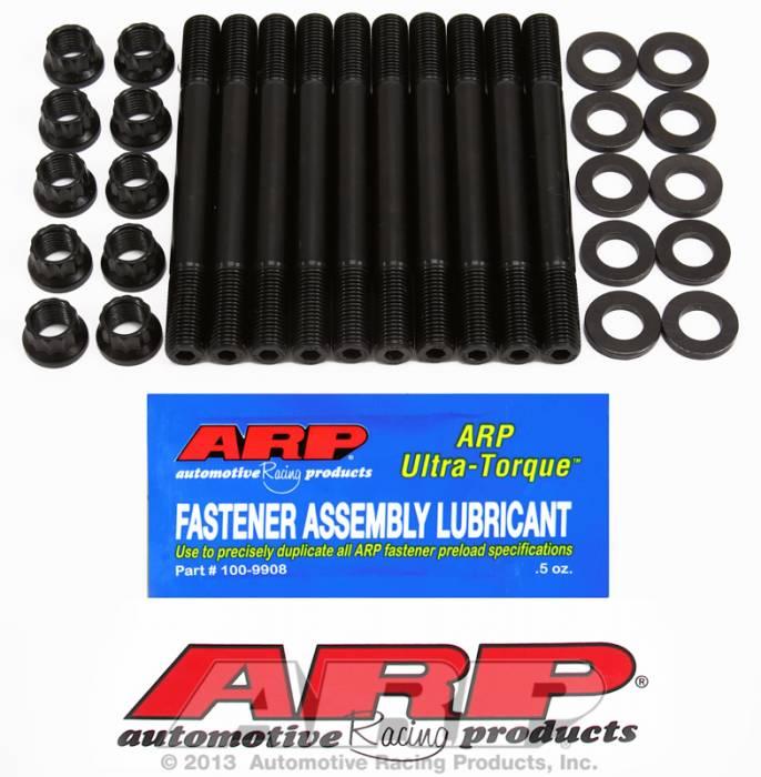 ARP - ARP2074203 -  ARP Head Stud Kit- Mitsubishi - 2.0L 4Cyl, 16Valve, 12Mm, 4G63 -1994 To Present- 12 Point Nuts