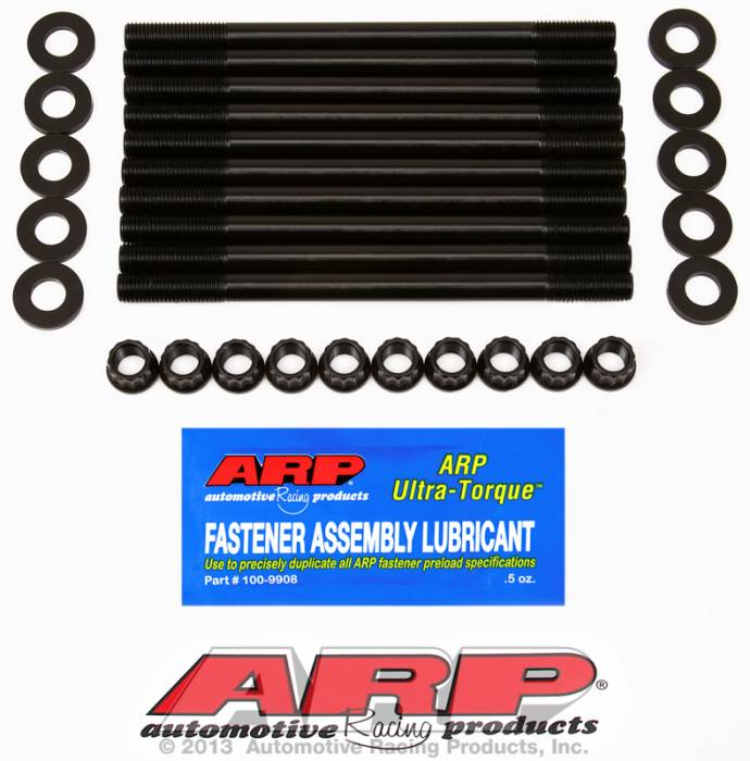 ARP - ARP2184702 - ARP Head Stud Kit- Mazda- 2.3L DOHC 16V, 2003- 12 Point Nuts