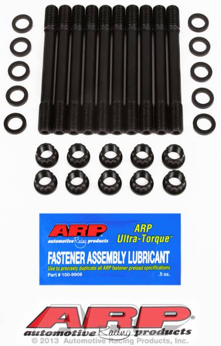 ARP - ARP1514702 -ARP Head Stud Kit- Ford Inline 4 Cyl- Pinto 2300Cc - 12 Point Nuts- Undercut Studs
