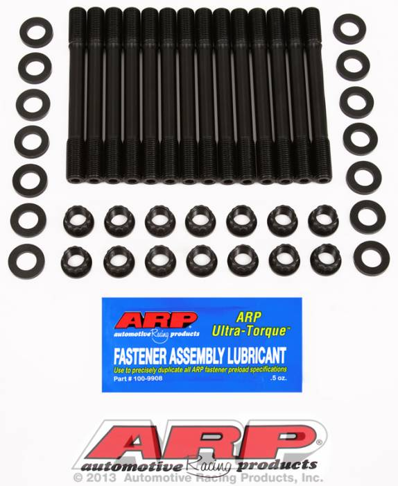 ARP - ARP2034702 - ARP Head Stud Kit- Toyota 2JZA80 Supra - 12 Point Nuts - Undercut Studs