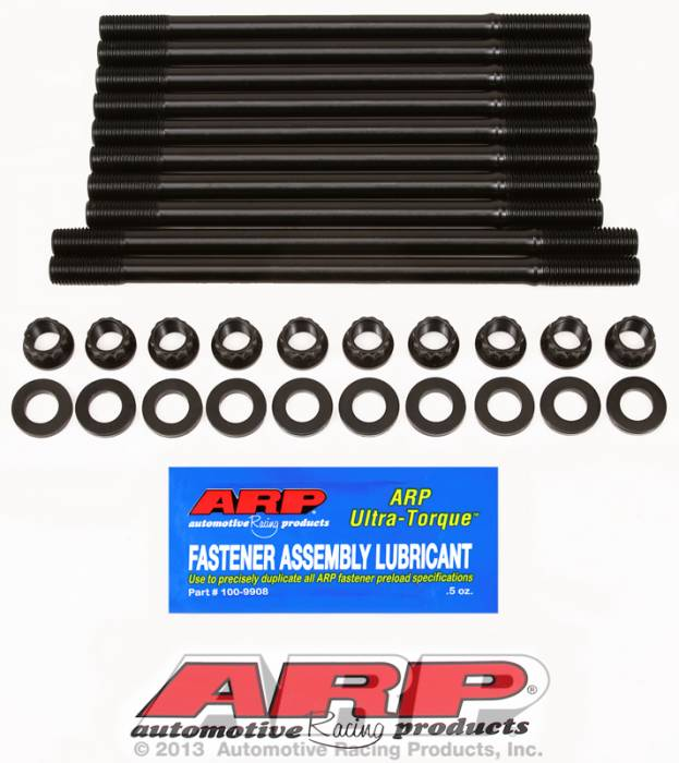 ARP - ARP2084302 - ARP Head Stud Kit- Honda, Acura B18A1, 11mm - 12 Point Nuts- Undercut Studs