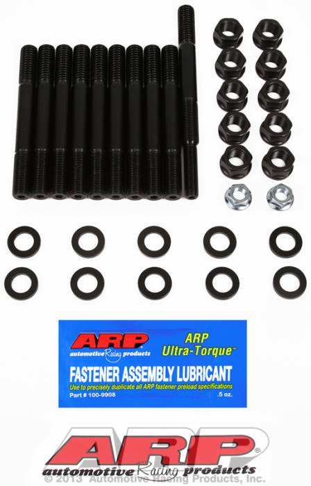 ARP - ARP1545409 - ARP Main Cap Stud Kit- Ford 351 W- With Dual Or Rear Sump Pan- 2 Bolt