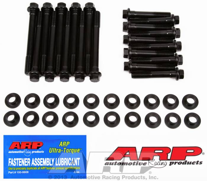 "ARP - ARP1543605 - ARP Head Bolt Kit- Ford 302 With Windsor Heads* 1/2"" To 7/16"" Insert Washer With 7/16 Bolts- High Performance Series-  6 Point Head"