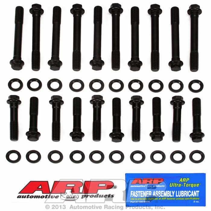 ARP - ARP1543603 - ARP Head Bolt Kit- Ford 351 Windsor With Edelbrock # 60259,60379 Heads- High Performance Series-  6 Point Head