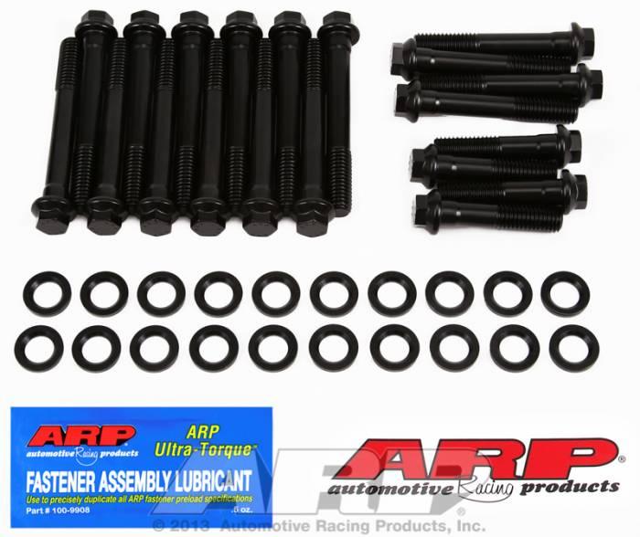 ARP - ARP1903602 - ARP Head Bolt Kit- Pontiac 400-428, '67 And Earlier - High Performance Series- 6 Point Head