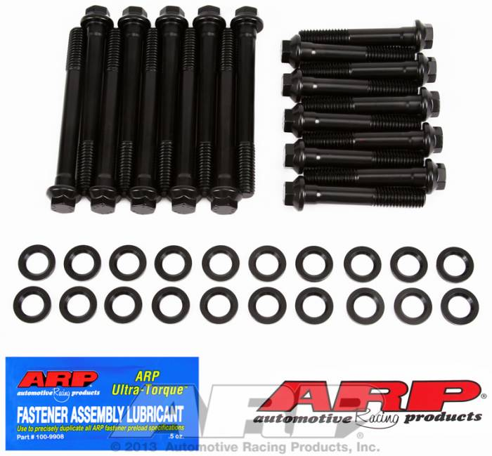 "ARP - ARP1553601 - ARP Head Bolt Kit- Ford 390-428 ""FE"" Series With Edelbrock # 60069 & 60079 Heads - High Performance  Series- 6 Point Head"
