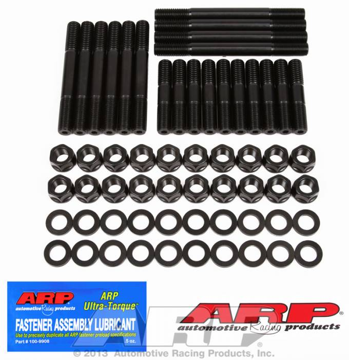 "ARP - ARP1444005 - ARP Head Stud Kit- Chrysler Small Block- Mopar ""A"" Engine With Edelbrock Performer RPM Heads - 6 Point Nuts"