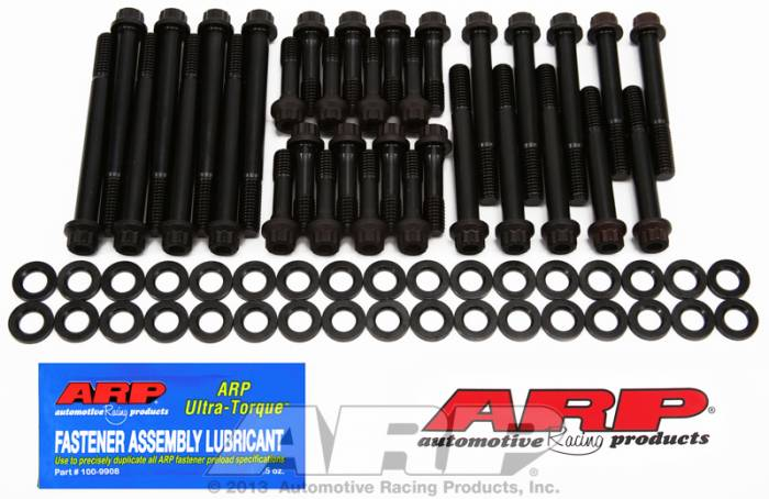 ARP - ARP2343707 - ARP Head Bolt Kit- Chevy Small Block - 18 Degree Standard Port  -Pro Series- 12 Point Head