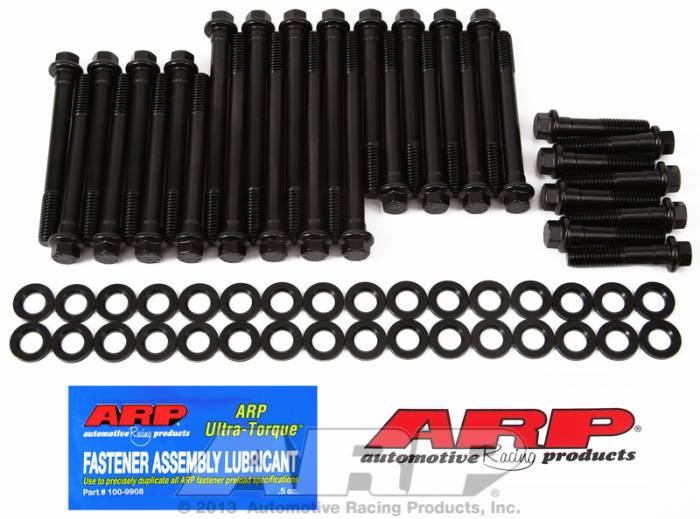 ARP - ARP1353607 -ARP Head Bolt Kit- Chevy Big Block -Gen V Block With World Merlin,Late Bowtie And Dart Aluminum, AFR- High Performance Series - 6 Point Head