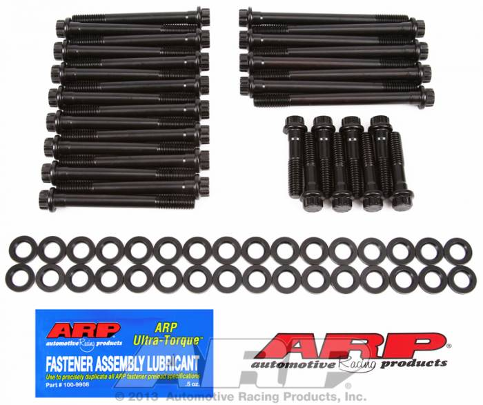 ARP - ARP1353707 - ARP Head Bolt Kit- Chevy Big Block -Gen V Block With World Merlin,Late Bowtie And Dart Aluminum, Afr- High Performance Series - 12 Point Head