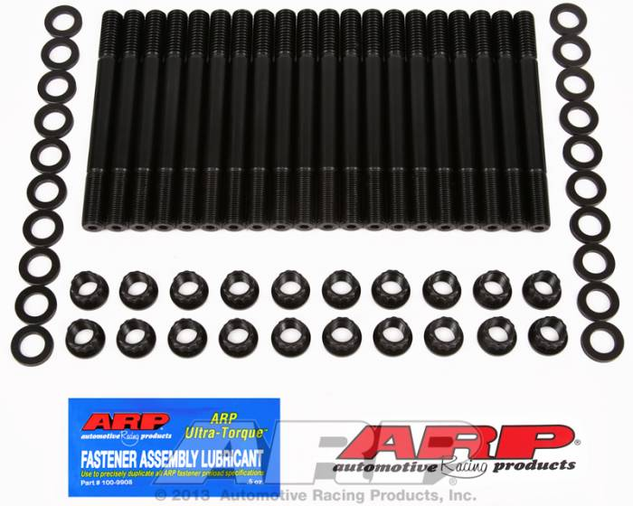 ARP - ARP1544204 -  ARP Head Stud Kit- Ford Small Block- 351Cleveland, 400M - 12 Point Nuts