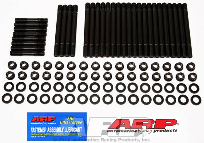 ARP - ARP2354601 - ARP Head Stud Kit- Chevy Big Block - Cast Iron OEM Heads, OEM Aluminum, Early Bowtie - 12 Point Nuts- Undercut Studs