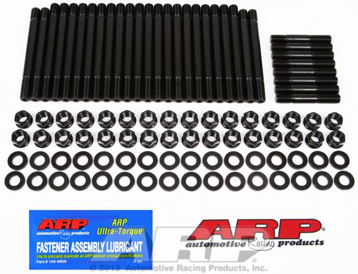 ARP - ARP1354001 - ARP Head Stud Kit- Chevy Big Block - Cast Iron OEM Heads, OEM Aluminum, Early Bowtie - 6 Point Nuts