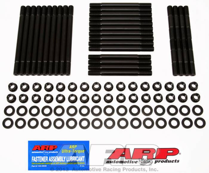ARP - ARP2354302 -ARP Head Stud Kit- Chevy Big Block-With Brodix -2, -4, 2X, 3X, Canfield, Holley, Big Duke - 12 Point Nuts