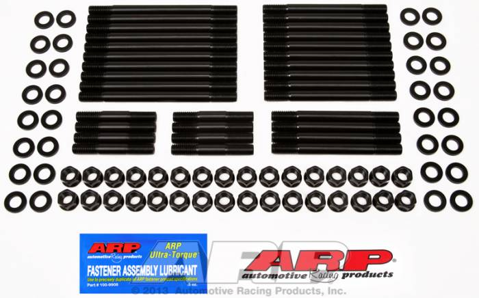 ARP - ARP2354102 -  ARP Head Stud Kit- Chevy Big Block-With Brodix -2, -4, 2X, 3X, Canfield, Holley, Big Duke - 6 Point Nuts