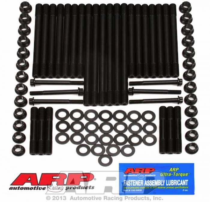 ARP - ARP2474203 - ARP Head Stud Kit- Chrysler/Dodge Cummings Diesel- 5.9L, 12 Valve, 1994-1998  - 12 Point Nuts